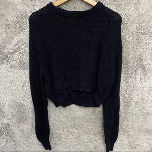 Urban Outfitters Pepper Pullover Cropped Sweater